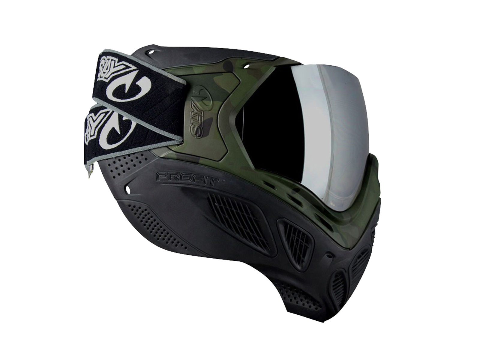 Шлем Goggle, SLY Profit, thermal lens, woodland
